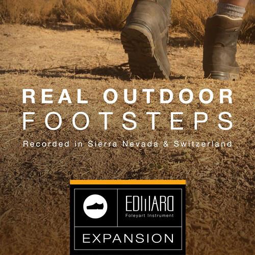 Tovusound Real Outdoor Footsteps - EFI Expansion I for Edward Foleyart Instrument (Download)