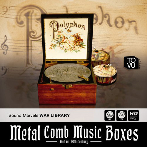 Tovusound Sound Marvels Metal Comb Music Boxes Sample Library (Download)
