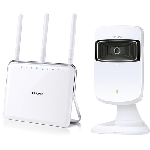TP-Link AC1900 Archer C9 Dual-Band Gigabit Router Kit with Wi-Fi Cloud Camera