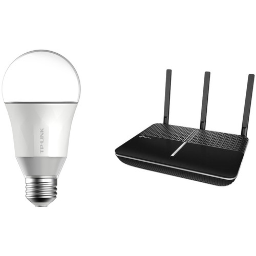 TP Link Archer AC2300 Router and Smart Bulb