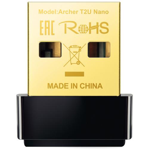 TP-Link Archer T2U Nano AC600 Wireless Dual-Band USB Adapter