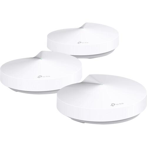 Refurb 3-Pack TP-Link Deco M9 Plus AC2200 Smart Home Mesh WiFi System