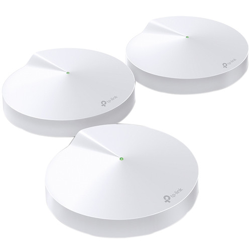 TP-Link Deco P7 AC1300+AV600 Whole-Home Hybrid Mesh Wi-Fi System (3-Pack)