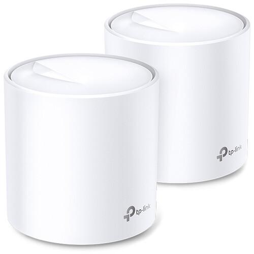 TP-Link Deco X60 AX3000 Wireless Dual-Band Gigabit Mesh Wi-Fi System (2-Pack)