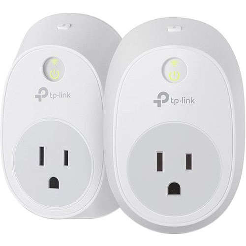 2-Pack TP-Link HS100 WiFi Enabled Smart Plug