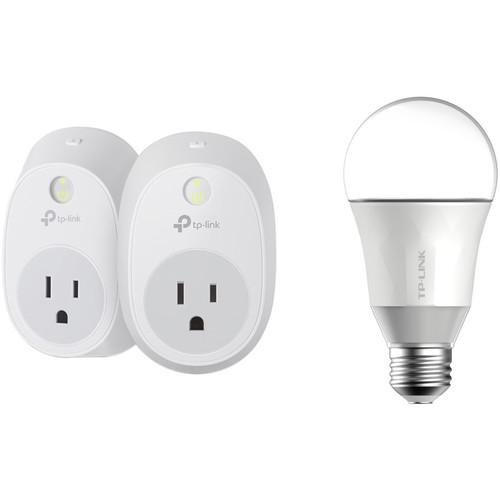 TP-Link HS100 Smart Plugs and LB100 Smart LED Bulb Kit User