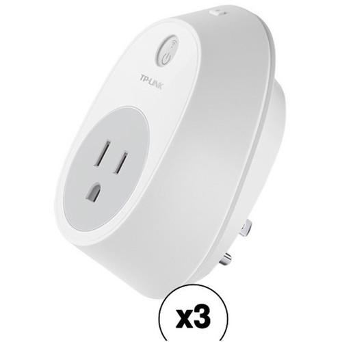 TP-Link HS100 Wi-Fi Smart Plug (3-Pack)