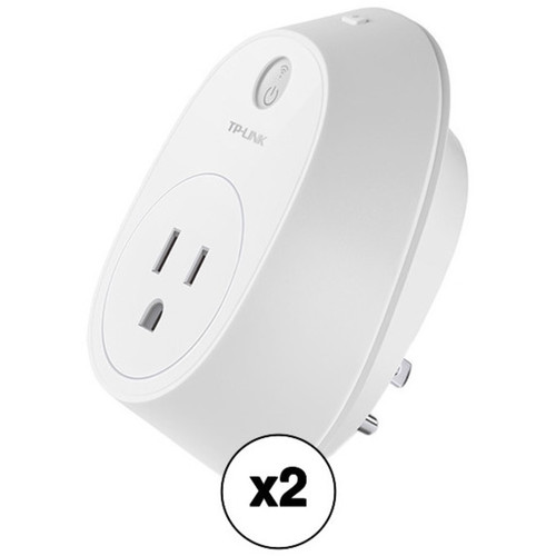 TP-Link HS110 Wi-Fi Smart Plug with Energy Monitoring (2-Pack)