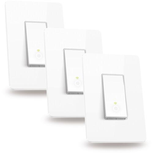 TP-Link Kasa Smart Wi-Fi Light Switch (3-Pack)