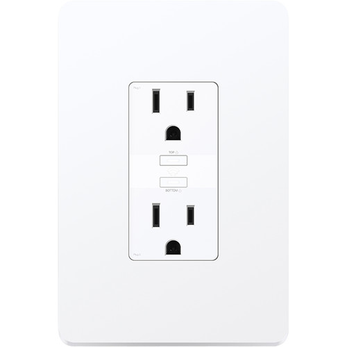 TP-Link KP200 Kasa Smart Wi-Fi In-Wall Power Outlet