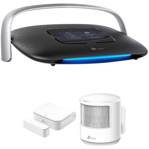 TP-Link SR20 Smart Home Router & Hub Kit with CS100 Door Sensor and MS100 Smart Motion Sensor