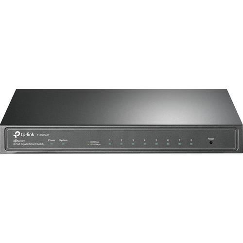 TP-Link T1500G-8T 8-Port Gigabit Managed Switch