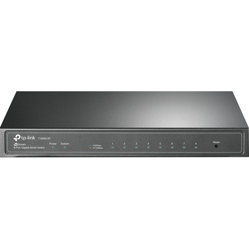 TP-Link T1500G-8T 8-Port Gigabit Managed Switch