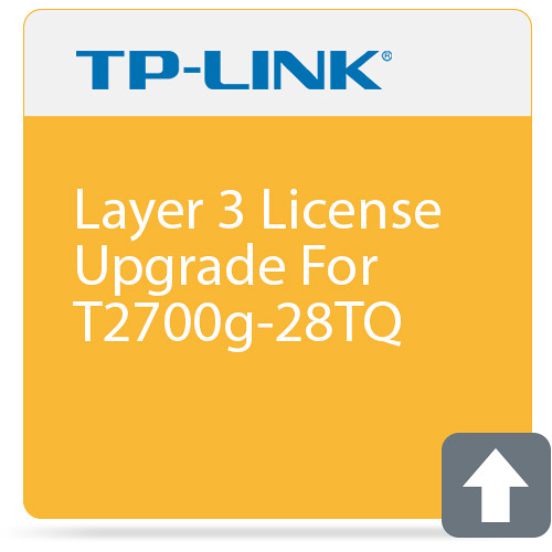 TP-Link Layer 3 License Upgrade for T2700G-28TQ