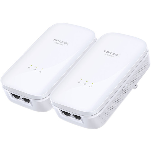 TP-Link TL-PA7020KIT HomePlug-AV1000 2-Port Gigabit Powerline Kit