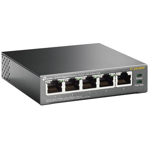 TP-Link TL-SG1005P 5-Port Gigabit PoE Unmanaged Switch