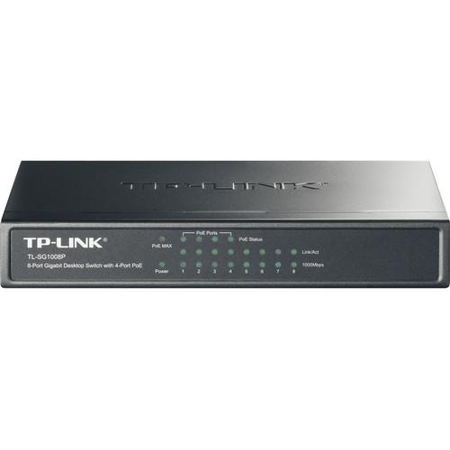TP-Link TL-SG1008P 8-Port Gigabit Desktop Switch w// 4-Port PoE