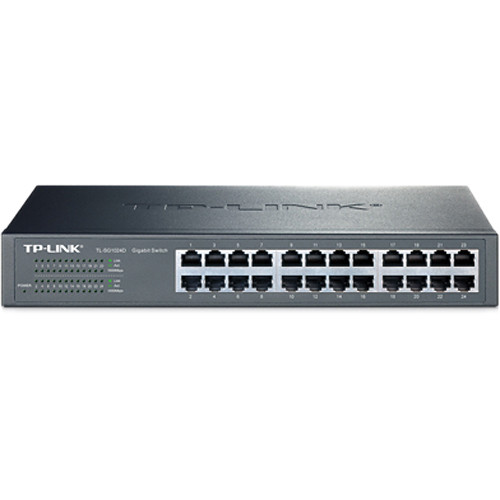 TP-Link TL-SG1024D 24-Port Unmanaged Gigabit Ethernet Switch
