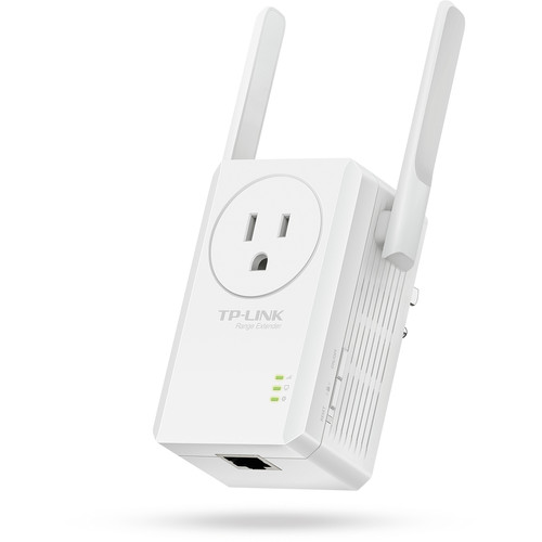 TP-Link TL-WA860RE N-300 Wi-Fi Range Extender with AC Passthrough