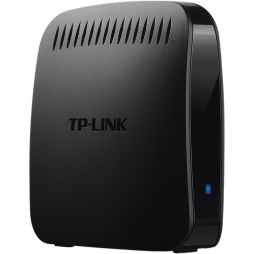 TP-Link N600 Universal Dual Band WiFi Entertainment Adapter with 4 Ports