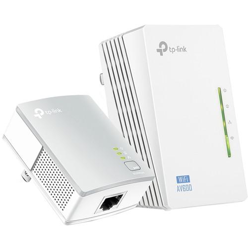 TP-Link TL-WPA4220KIT Wireless-N300 Range Extender AV500 Powerline Edition