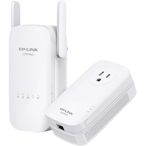 TP-Link TL-WPA8630KIT Dual-Band Wireless-AC1200 AV1200 Gigabit Powerline Kit