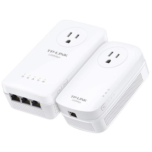TP-Link TL-WPA8630PKIT HomePlug-AV1200 Gigabit Passthrough Powerline Kit