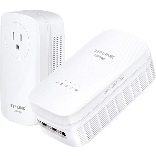 TP-Link TL-WPA8730 KIT AV1200 Gigabit Powerline AC Wi-Fi Kit