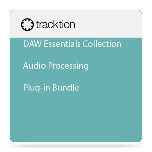 tracktion DAW Essentials Collection - Audio Processing Plug-in Bundle (Download)