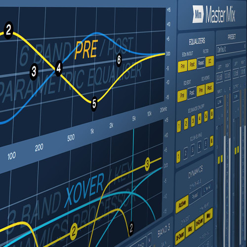 tracktion Master Mix Professional Stereo Mastering Plugin (Software, Download)