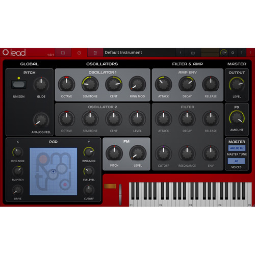 tracktion Retromod Lead - Clavia Synthesizer Emulation (Software, Download)