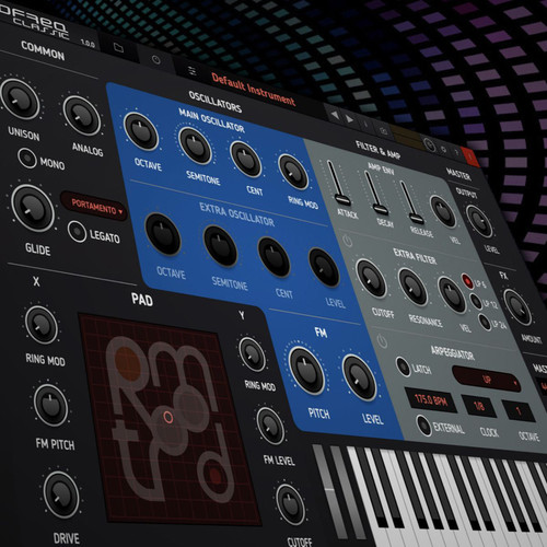 tracktion RetroMod LoFreq Classic Synths Virtual Instrument (Software, Download)