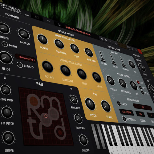 tracktion LoFreq Modern Synthesizer Virtual Instrument (Software, Download)