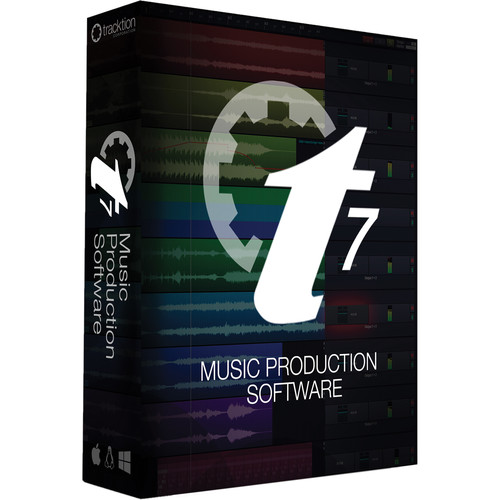 tracktion T7 DAW - Music Production Software (Download)