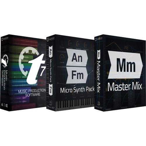 tracktion T7 Plus Pack - Music Production Software Bundle (Download)