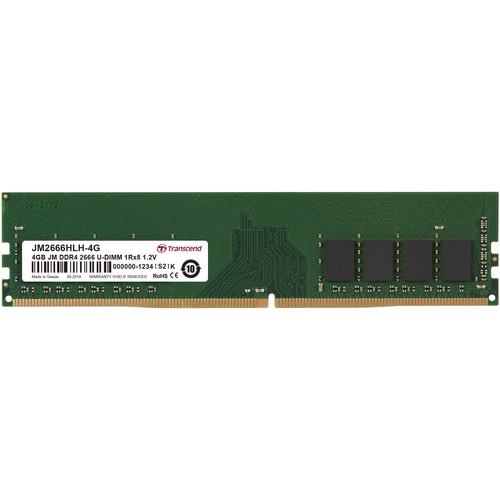 Transcend 4GB JetRam DDR4 2666 MHz CL19 UDIMM Memory Module