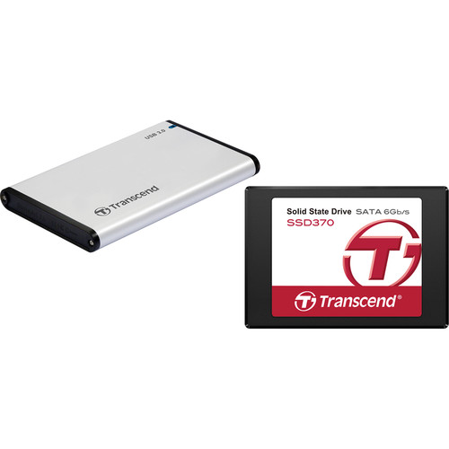 Transcend StoreJet 25S3 USB 3.0 Enclosure with 1TB SSD