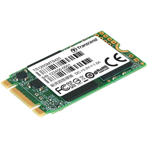 Transcend 120GB MTS420 M.2 SATA III Internal SSD