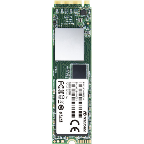 Transcend 128GB MTE820 PCIe M.2 Internal SSD