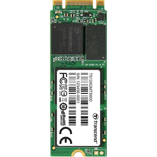 Transcend 128GB MTS600 SATA III M.2 Internal SSD
