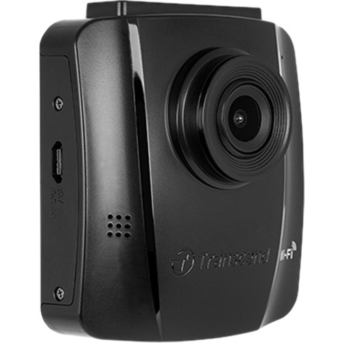 Transcend DrivePro 130 1080p Dash Camera with Adhesive Mount