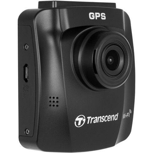 Transcend DrivePro 230 1080p Dash Camera with Adhesive Mount