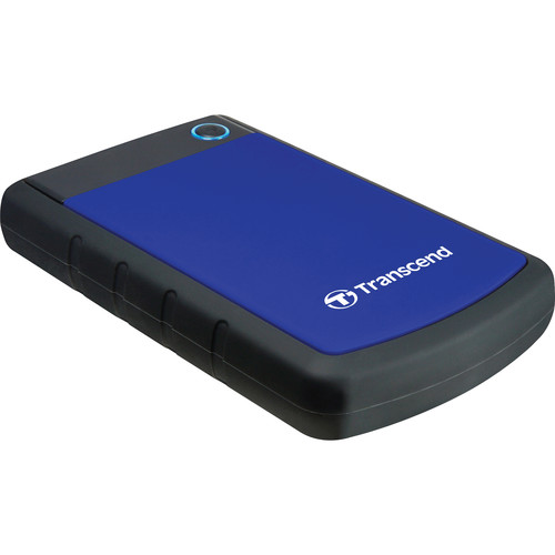 Transcend 1TB StoreJet 25H3P Anti-Shock External Hard Drive (Blue)