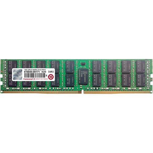 Transcend 16GB DDR4 2133 MHz RDIMM Memory Module