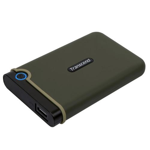 Transcend 2TB USB 3.0 External Hard Drive (Military Green)
