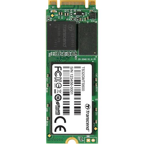 Transcend 32GB MTS600 SATA III M.2 Internal SSD