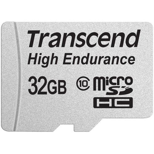 Transcend 32GB High Endurance microSDHC Memory Card