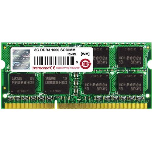 Transcend 8GB DDR3 1600 MHz SODIMM 12800 for Mac