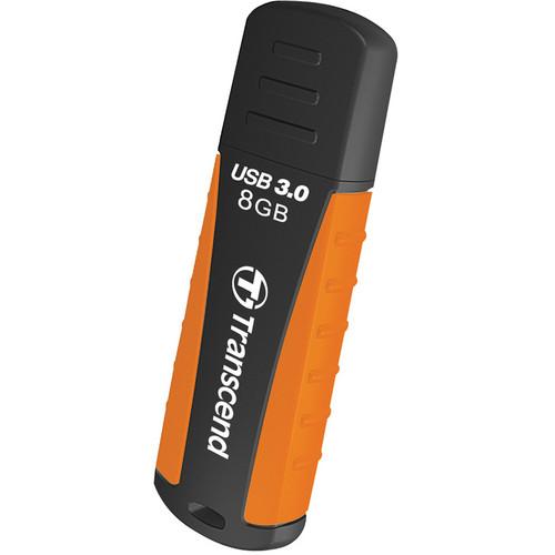 Transcend 8GB JetFlash 810 USB 3.0 Flash Drive (Orange/Black)