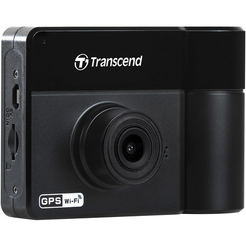 Transcend DrivePro 550 Dual Lens Dash Camera with 64GB microSD Card
